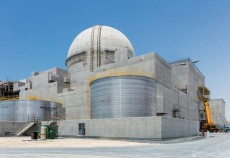 The UAE's first nuclear power plant in Barakah is in its final stages of construction