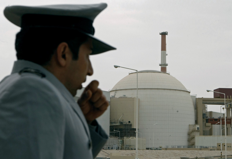 Iran is paying a heavy political and economic price for its first nuclear power plant.