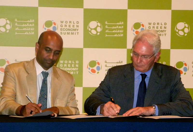The MoU is signed.