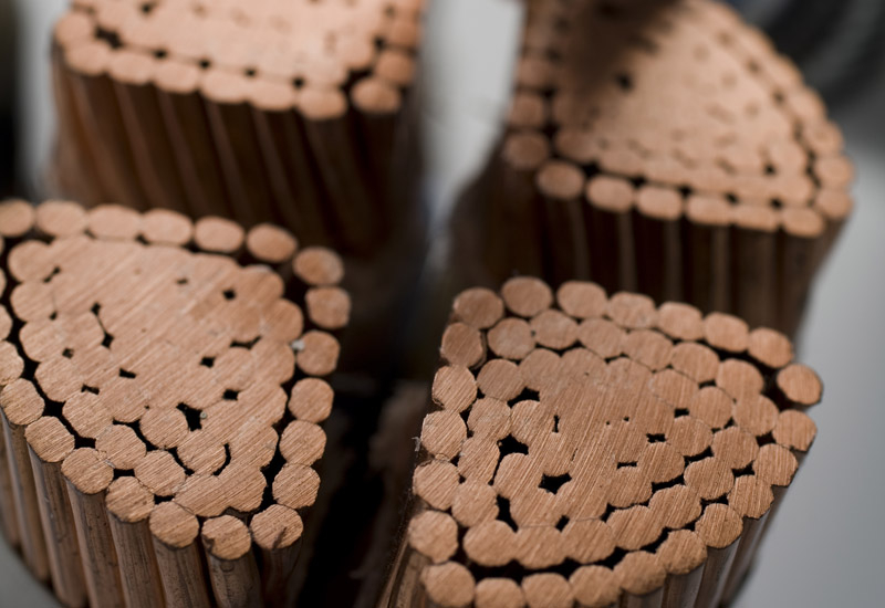 Rising copper prices could push cabling costs up. (Getty Images)