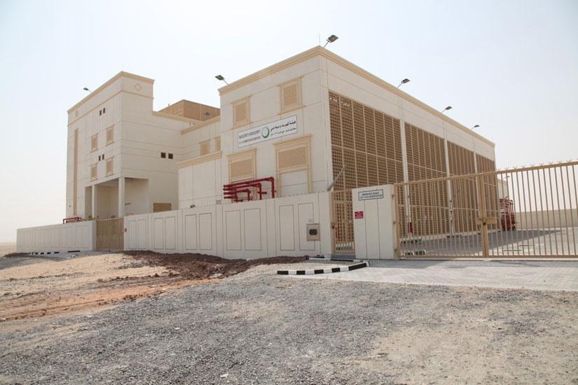 DEWA says that the new station will enhance the reliability of the network.