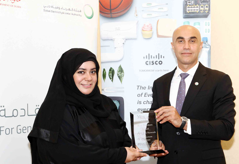Moza Al Akraf, DEWA and Rabih Dabboussi, Cisco