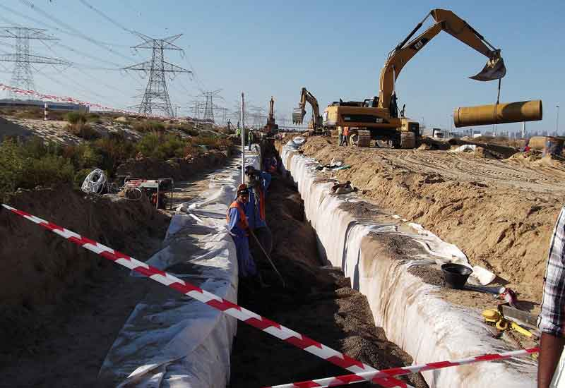DEWA is set to extend the Palm Jumeirah water network by 3km. (GETTY IMAGES)
