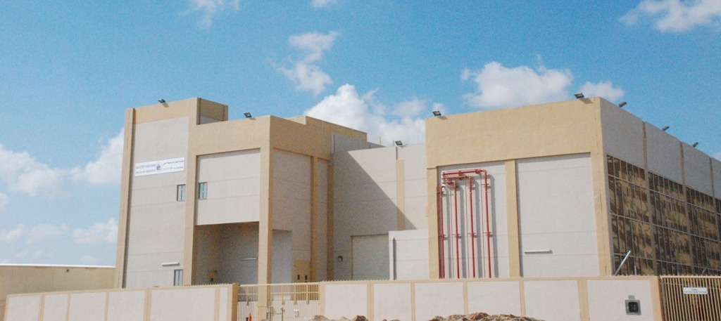 One of the new 132kV DIC substations.