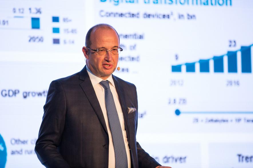 Dietmar Siersdorfer, CEO, Siemens Middle East and UAE