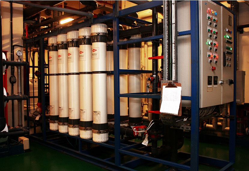Dow membrane technology is being deployed to recycle wastewater for cooling towers.