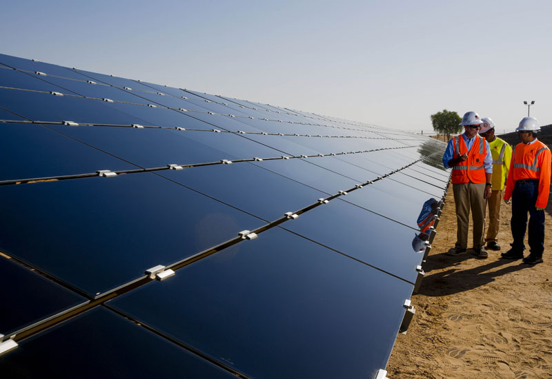 First Solar, the biggest US solar-panel manufacturer, built the facility