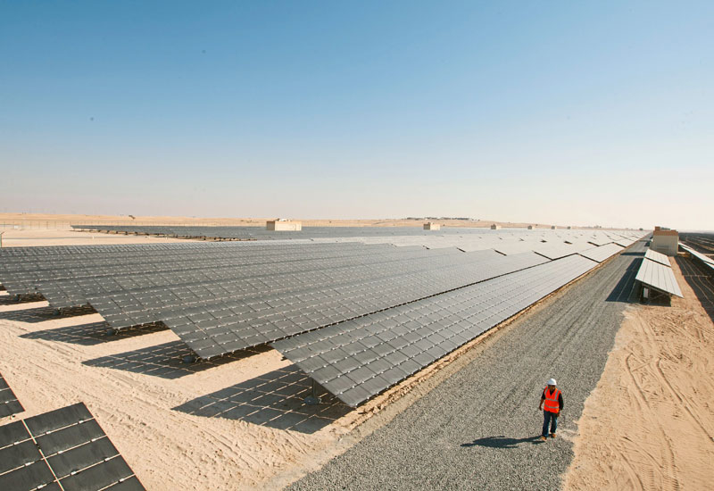 Dubai Solar Park First was contracted to build the 13MW plant