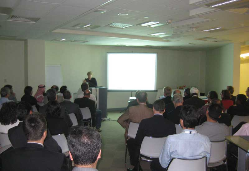 Emirates Green Buildings Council first Networking Session in 2011.