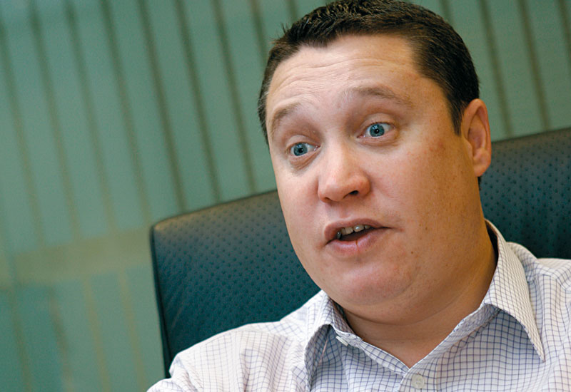 Phil Burns, Agrekko Middle East managing director.