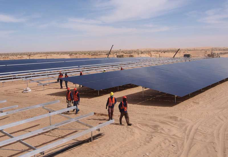 Sheikh Zayed Solar Power Plant, Mauritania satisfies approximately 10% of Nouakchott's power needs.
