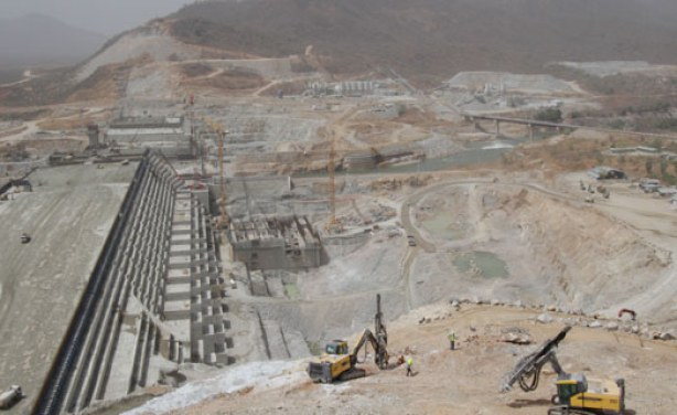 Egypt has resisted the construction of the 6000MW Ethiopia's renaissance hydropower dam along the Blue Nile