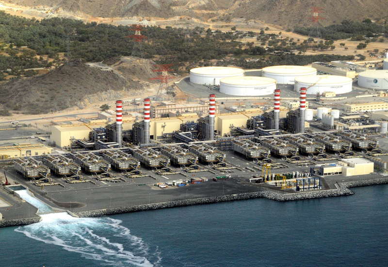 The newly inaugurated F2 power and desalination plant in Fujairah. (Courtesy of FAPCO)