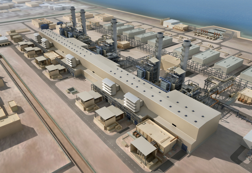 The Ras Al Zour power plant will be moving beyond the planning and design stage this month.