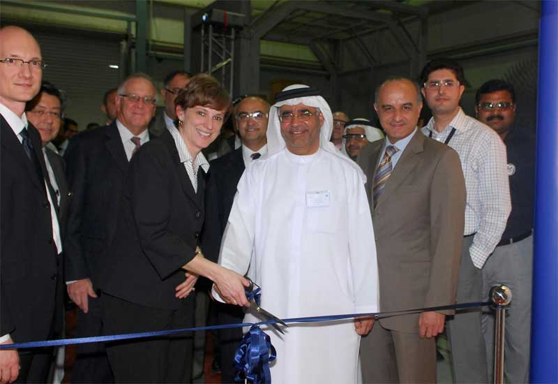 The gas turbine repair facility has now been expanded.