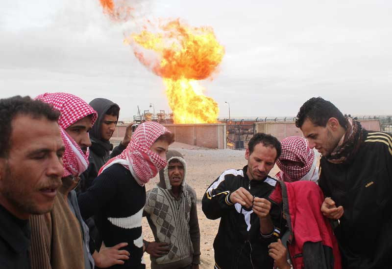 The attacked gas pipeline helps Jordan meet 80% of its power generation needs. (GETTY)