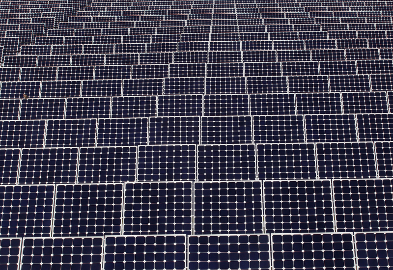 Iran's latest solar project is inaugurated. (Getty Images)