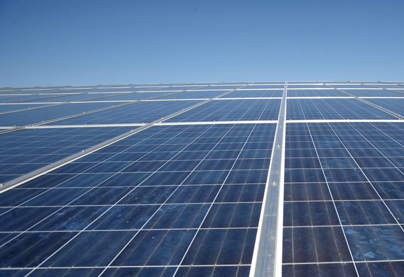 Saudi's first solar plant inaugurated.