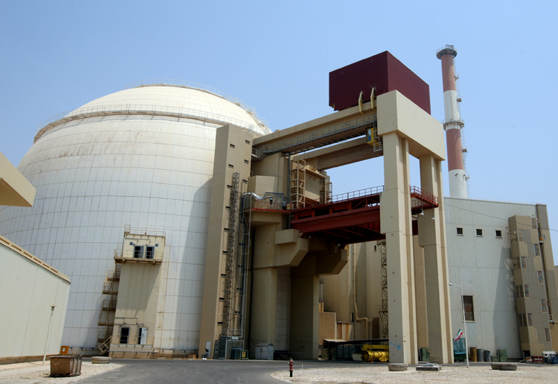 Iran's first nuclear reactor, Bushehr. (Getty Images)