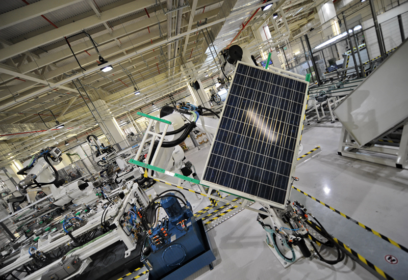 Saudi Arabia to manufacture solar raw materials. (Getty Images)