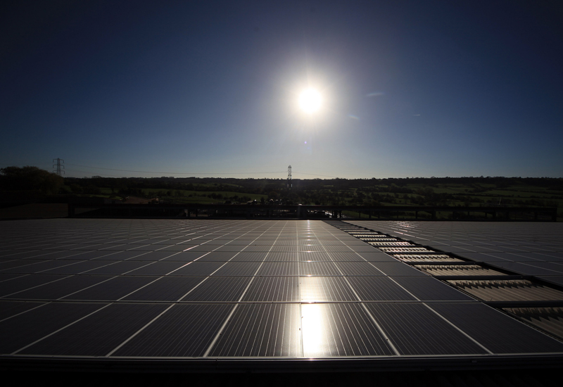 Masdar's Spanish solar project supplies 24-hour solar power. (Getty Images)