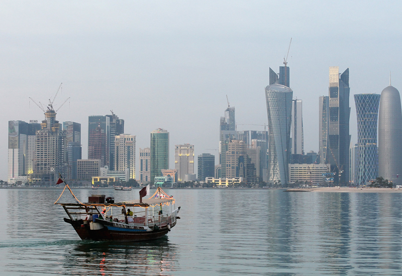 Mitsubishi chillers for Doha's district cooling. (Getty Images)