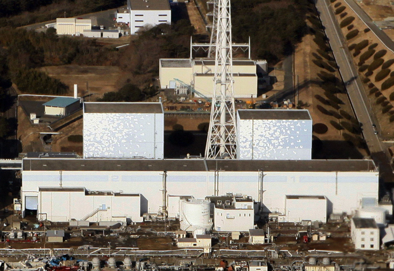 The stricken Fukushima nuclear power plant, after Friday's earthquake seriously damaged its reactors. (Getty Images)