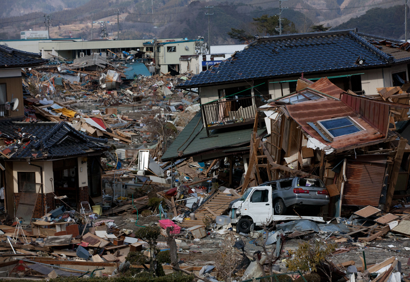 Portable power stations shipped out as outages continue in quake-hit Japan. (Getty Images)
