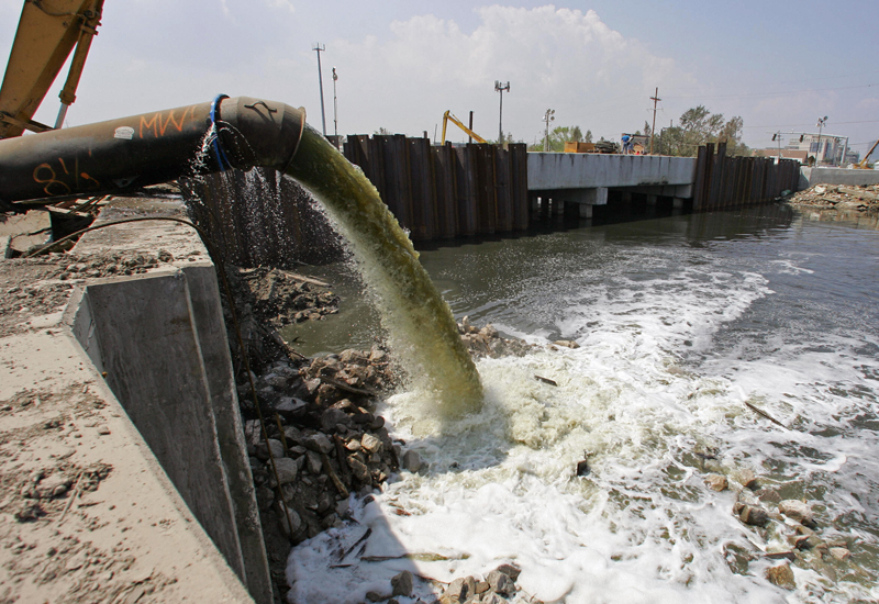 New wastewater pipeline will ease pressure on Jordan's infrastructure. (Getty Images)