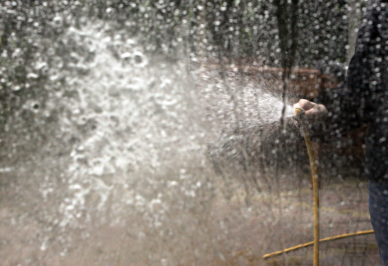 The MENA region's water supply is least secure in the world, report says. (Getty Images)