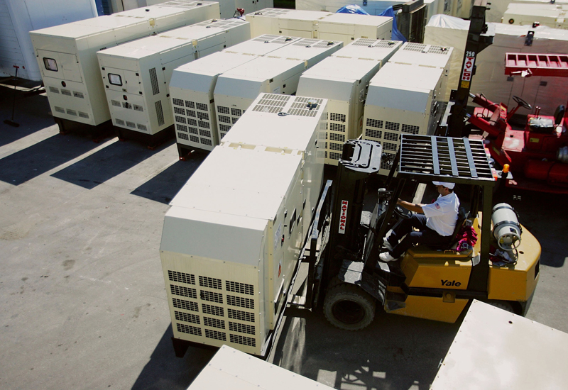 72 factories are still running on generators in Sharjah International Airport Free Zone. (Getty Images)