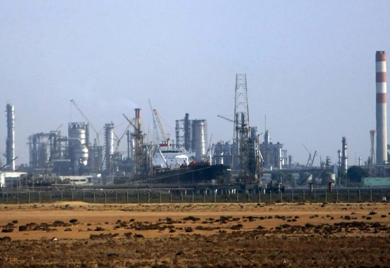 Saudi Arabia's Rabigh plant under construction. (Getty Images)