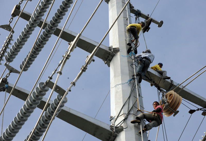 The partnership will see the firms work on digital substations secured against cyber attack. (GETTY IMAGES)