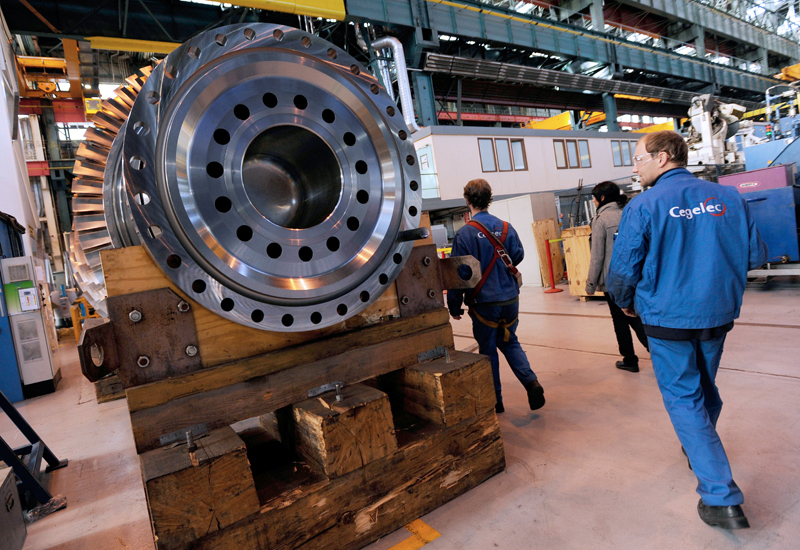 GE revamps 6B gas turbine in world's first flange-to-flange upgrade. (Getty Images)
