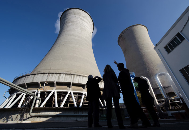 New Iraq power plant inaugurated by development firm Sunir. (Getty Images)