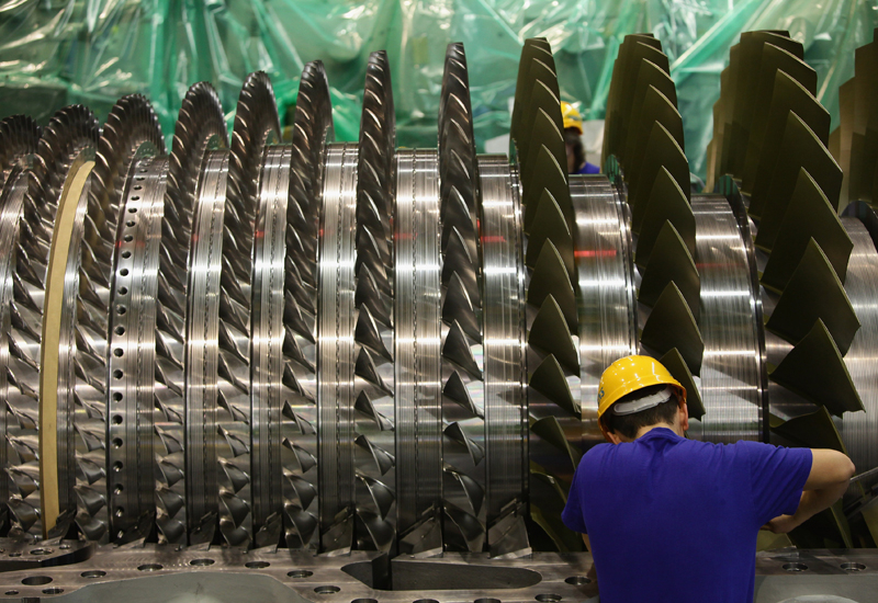 Siemens turbine reaches record efficiency levels. (Getty Images)