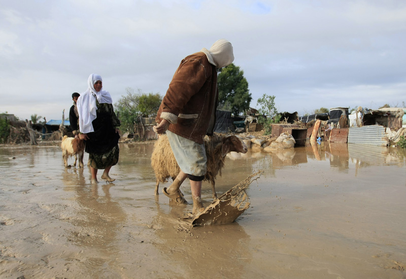 A further 2,500 plots in Jeddah have had services disconnected. (Getty Images)
