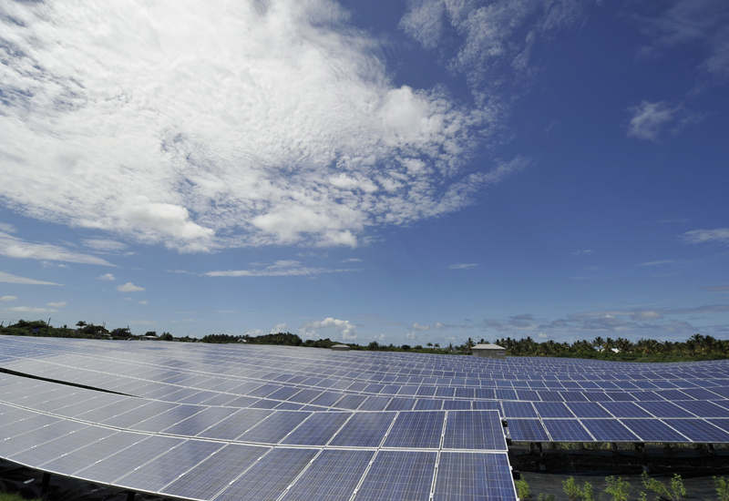 Saudi will have a solar desalination facility by 2013. (Getty Images)