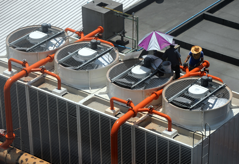 TAQA will test the viability of the Chromasun solar panels providing power for cooling. (GETTY IMAGES)