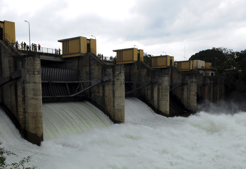 Dams to come on stream every month in Iran, the energy minister says. (Getty Images)