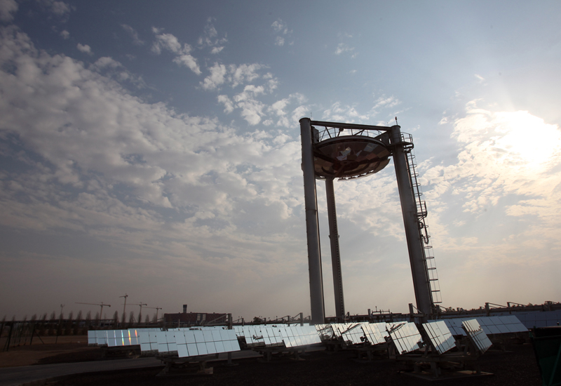 Meeting of minds at Masdar will discuss Abu Dhabi's solar future. (Getty Images)