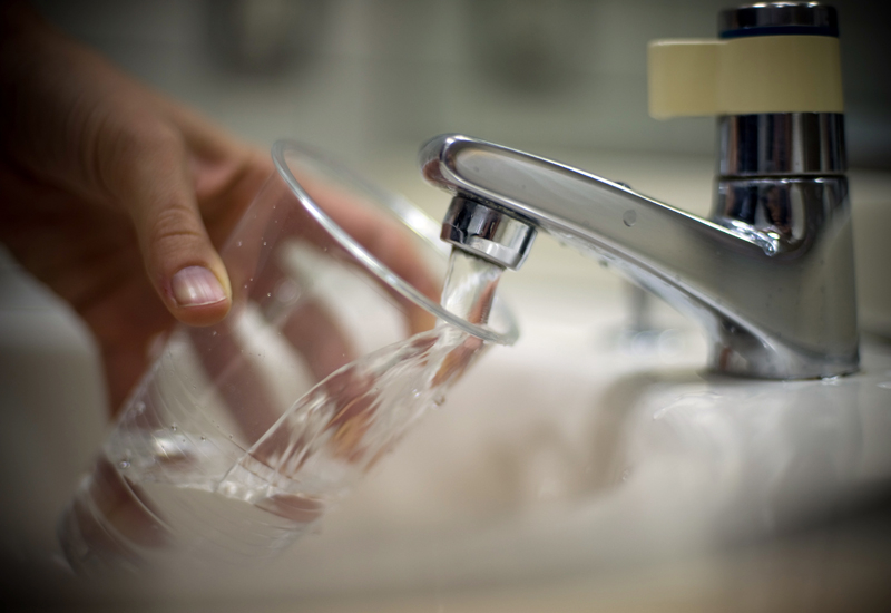 The OIC has said that 95% of the water in the Gaza Strip is unsafe for drinking. (GETTY IMAGES)