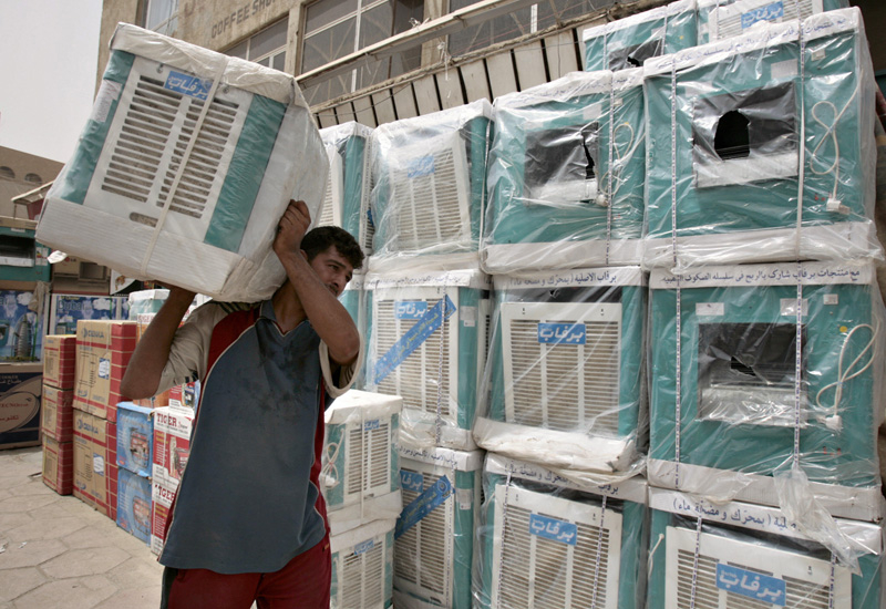 Ban on inefficient air conditioning to save 30% of UAE's electricity. (Getty Images)