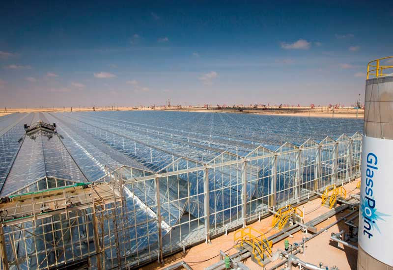 Solar technology at work in Oman