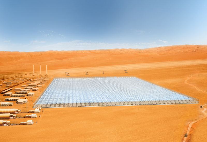 Glasspoint's solar EOR is set to be tested at a 7MW site in Oman.
