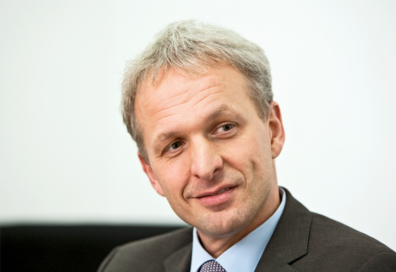 Alstom Grid's president, Gregoire Poux-Guillaume.