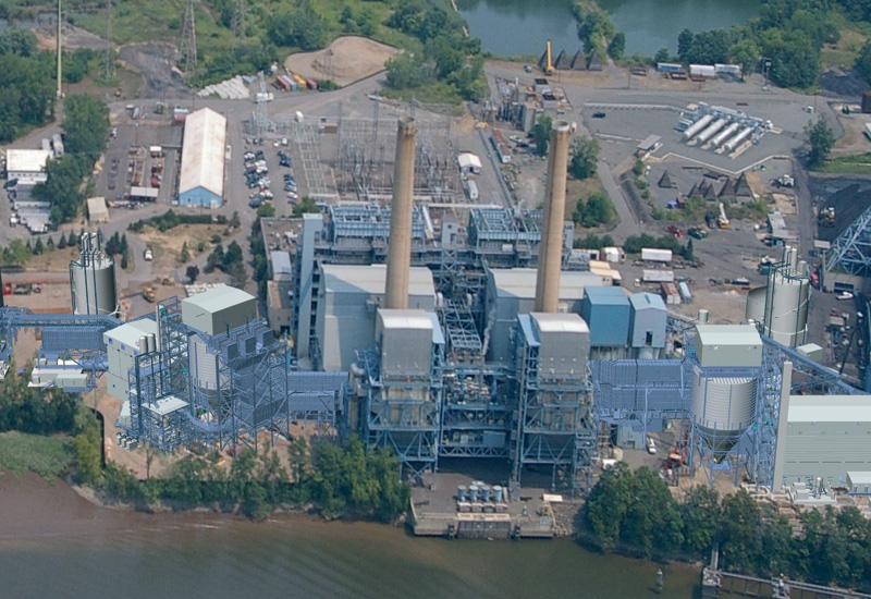 The construction costs of a power plant can be reduced by management software.