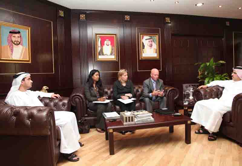HE Saeed Mohammed Al Tayer MD & CEO of DEWA meets a delegation from the Australian Trade Commission.
