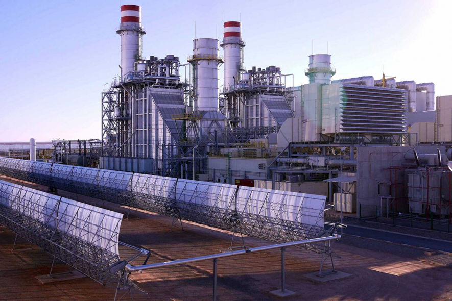 The 550MW integrated solar combined cycle plant will primarily burn natural gas