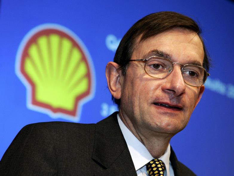 Former Shell CEO Jereon van der Veer believes natural gas should be utilised more.